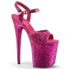 FLAMINGO - 810LG Hot Pink Glitter